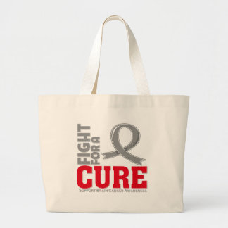 Brain Cancer Fight For A Cure Canvas Bag
