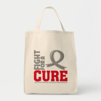 Brain Cancer Fight For A Cure Tote Bags