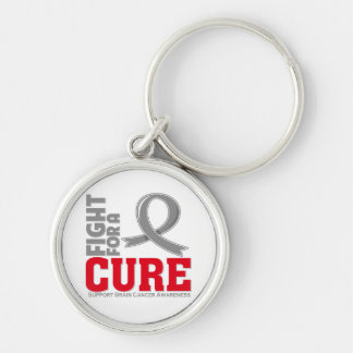 Brain Cancer Fight For A Cure Keychains
