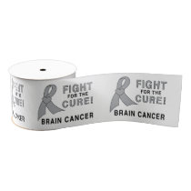 """Brain Cancer Fight for the Cure 3"""" Grosgrain Ribbon"""