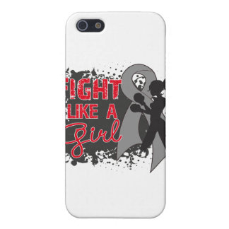 Brain Cancer Fight Like A Girl Grunge Covers For iPhone 5
