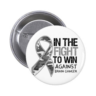 Brain Cancer - Fight To Win Button