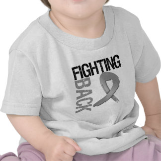 Brain Cancer Fighting Back Tee Shirts