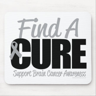 Brain Cancer Find A Cure Mouse Pad