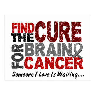 Brain Cancer FIND THE CURE 1 Postcard