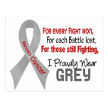 Brain Cancer For Every…..I Proudly Wear Grey 1 Post Cards