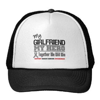 Brain Cancer Girlfriend Hero Trucker Hats