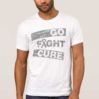 Brain Cancer Go Fight Cure T-shirt
