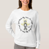 Brain Cancer God Made My Hero An Angel T-Shirt