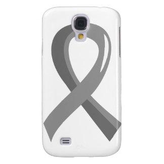 Brain Cancer Grey Ribbon 3 Galaxy S4 Covers
