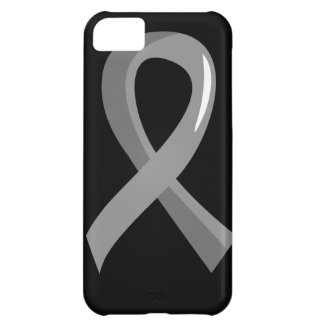 Brain Cancer Grey Ribbon 3 iPhone 5C Covers