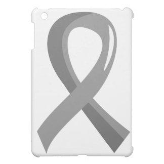 Brain Cancer Grey Ribbon 3 iPad Mini Case