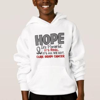 Brain Cancer HOPE 1 Hoodie