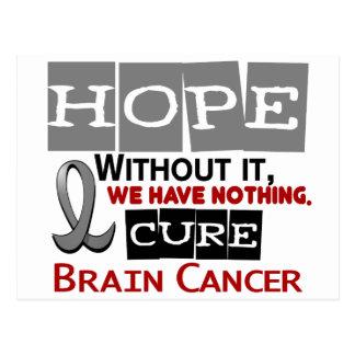 Brain Cancer HOPE 2 Postcard