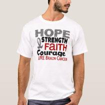 Brain Cancer HOPE 3 T-Shirt