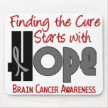 Brain Cancer HOPE 4 Mouse Mat