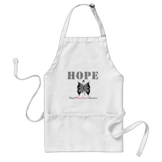 Brain Cancer Hope Butterfly Apron