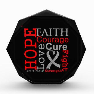 Brain Cancer Hope Faith Motto Award