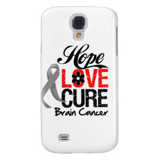 Brain Cancer Hope Love Cure Samsung Galaxy S4 Covers