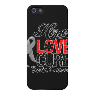 Brain Cancer Hope Love Cure Case For iPhone 5