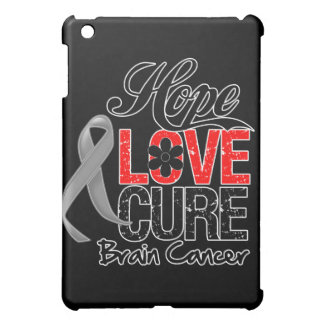 Brain Cancer Hope Love Cure Cover For The iPad Mini