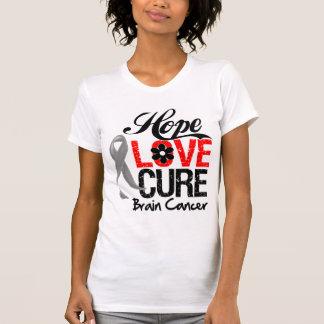 Brain Cancer Hope Love Cure Tank