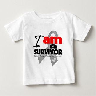 Brain Cancer - I am a Survivor Baby T-Shirt