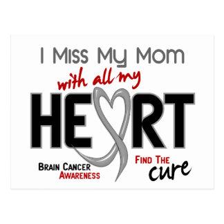 Brain Cancer I MISS MY MOM Postcard