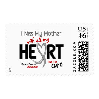 Brain Cancer I MISS MY MOTHER Postage