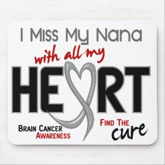 Brain Cancer I MISS MY NANA Mouse Pad