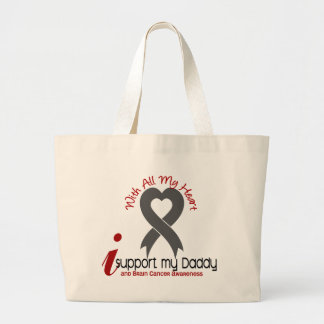 Brain Cancer I Support My Daddy Bags
