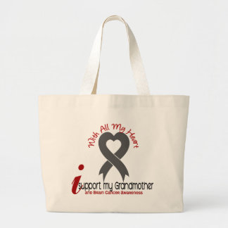 Brain Cancer I Support My Grandmother Bags