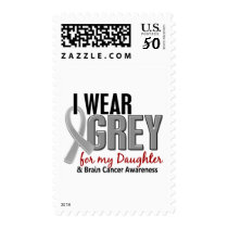 BRAIN CANCER I Wear Grey For My Daughter 10 Postage
