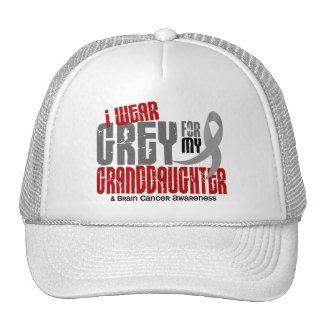 Brain Cancer I Wear Grey For My Granddaughter 6.2 Trucker Hats