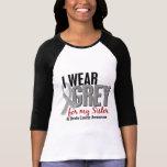 BRAIN CANCER I Wear Grey For My Sister 10 Tshirt