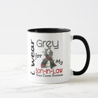 Brain Cancer I Wear Grey For My Son-In-Law 43 Mug