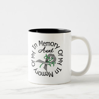 Brain Cancer In Memory of My Aunt Coffee Mugs