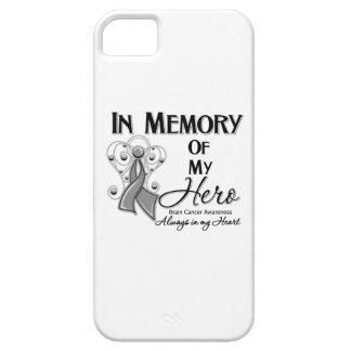 Brain Cancer In Memory of My Hero iPhone SE/5/5s Case