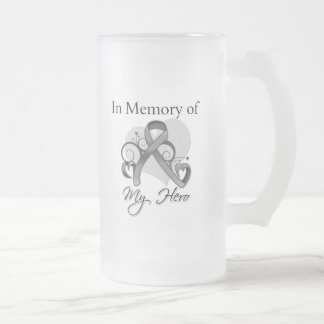 Brain Cancer In Memory of My Hero Mug