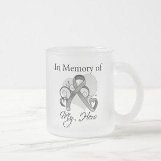 Brain Cancer In Memory of My Hero Mugs
