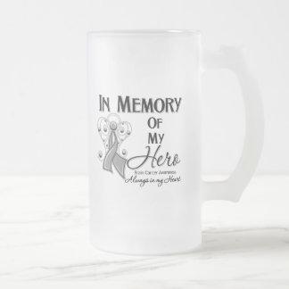 Brain Cancer In Memory of My Hero Coffee Mug