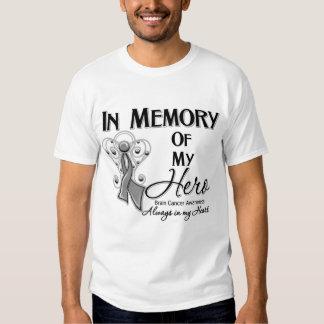 Brain Cancer In Memory of My Hero T-Shirt