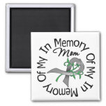 Brain Cancer In Memory of My Mom Magnets