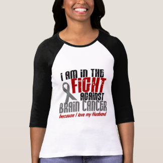 Brain Cancer IN THE FIGHT 1 Husband Tee Shirt