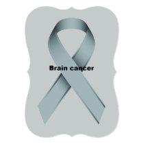 Brain cancer invitation