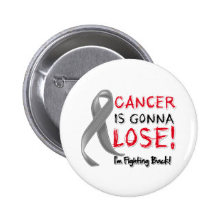 Brain Cancer is Gonna Lose Pinback Buttons