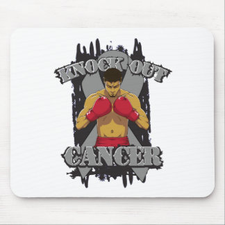 Brain Cancer Knock Out Cancer Mousepads