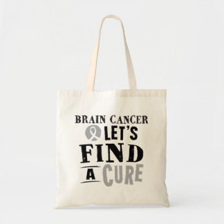 Brain Cancer lets Find a Cure Tote Bag