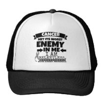 Brain Cancer Met Its Worst Enemy in Me Trucker Hat