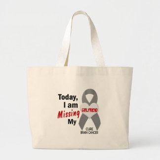 Brain Cancer Missing Miss My Girlfriend 1 Tote Bag